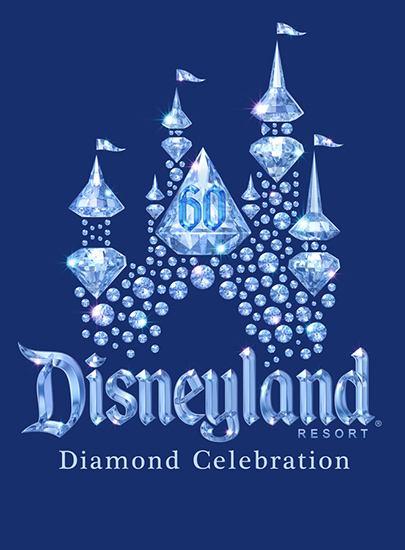 Disneyland Resort Diamond Celebration Logo
