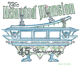 Vote Now to Select a Disney Parks Blog Wallpaper Celebrating 45 Years of the Haunted Mansion at Disneyland Park