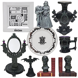New Haunted Mansion Home Décor Appearing This Fall at Disney Parks
