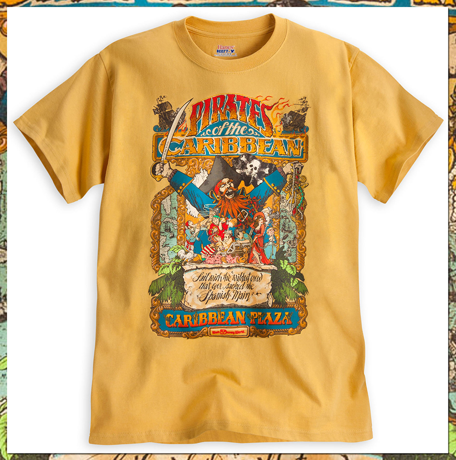 Pirates of the caribbean t shirts set sail on disney parks for T shirts store online