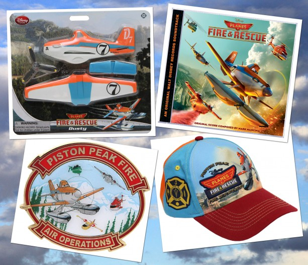 Disney's 'Planes: Fire & Rescue' Lands at Disney Parks
