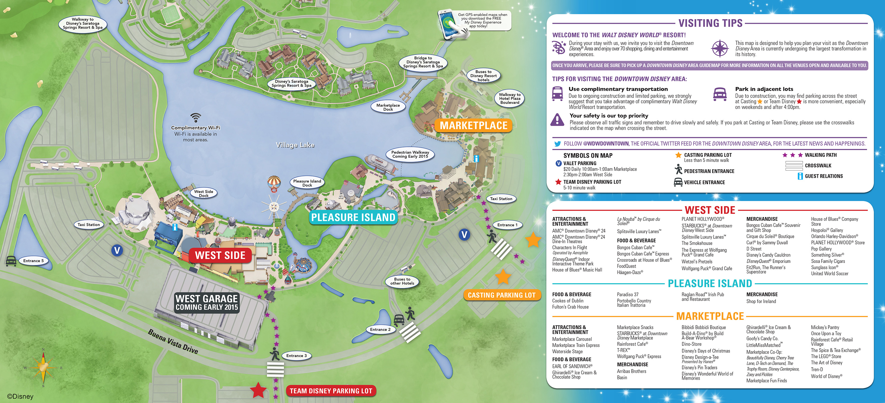 Downtown Disney Parking Information & Tips