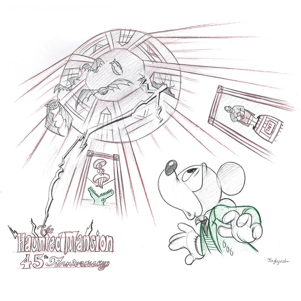 Winning Disney Parks Blog Haunted Mansion 45th Anniversary Wallpaper