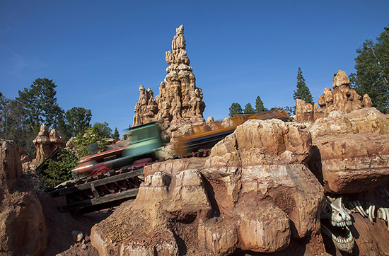 Big Thunder Mountain Railroad at Disneyland Park
