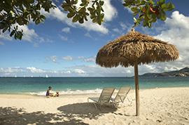 Beach at Grenada
