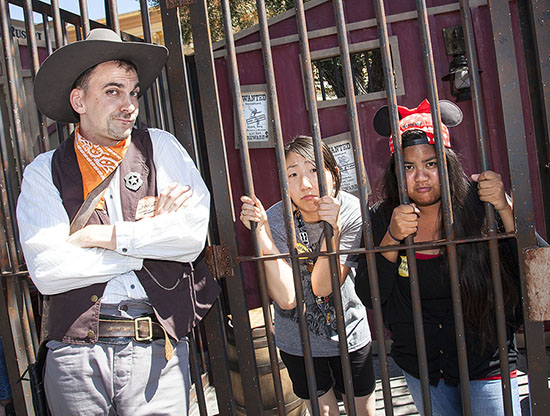 Stay Out of Jail at 'Legends of Frontierland: Gold Rush!'