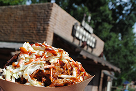 BBQ Waffle Fries at Golden Oak Outpost in Magic Kingdom Park