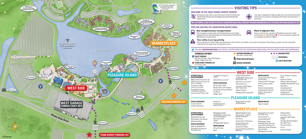 Heading To Downtown Disney At Walt World Don't Miss These: Disney Springs Hotels Map At Slyspyder.com