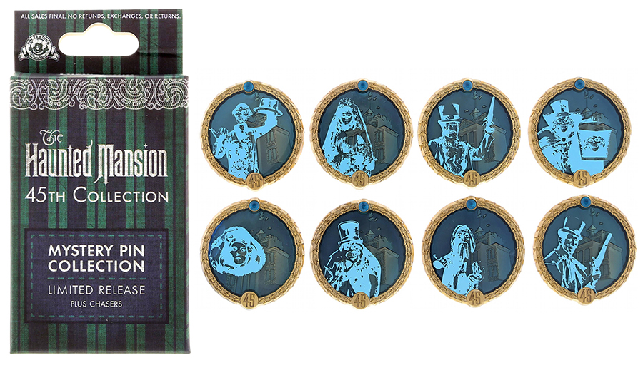 Haunted Mansion 45th Anniversary Pin Releases At The