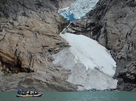 Exploring Glaciers with Adventures by Disney