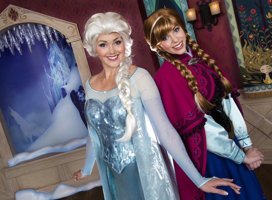 Return time tickets help disneyland park guests meet frozen return time tickets help disneyland park guests meet frozen favorites anna and elsa m4hsunfo