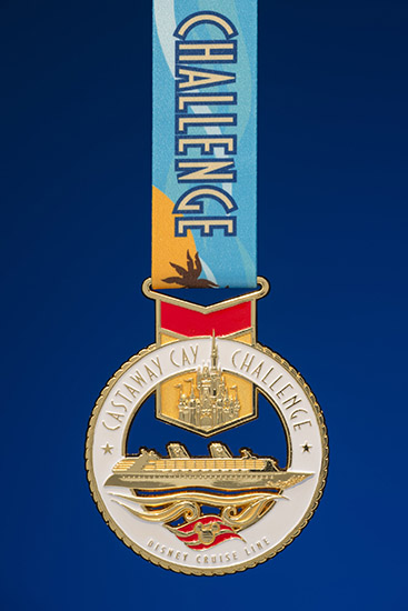 Set Sail For The New Castaway Cay Challenge Finisher Medal