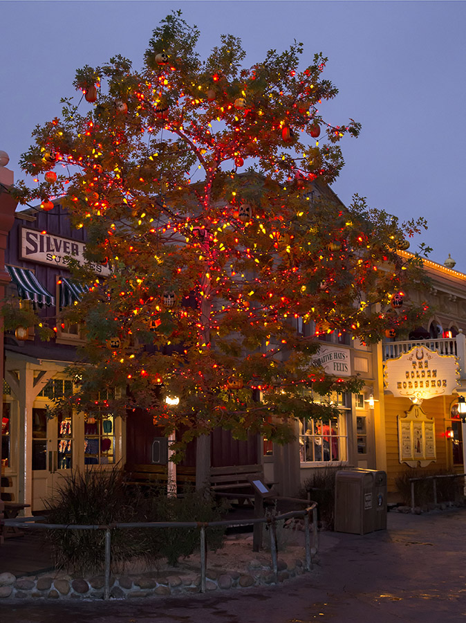 the halloween tree at disneyland park - When Does Disneyland Decorate For Halloween