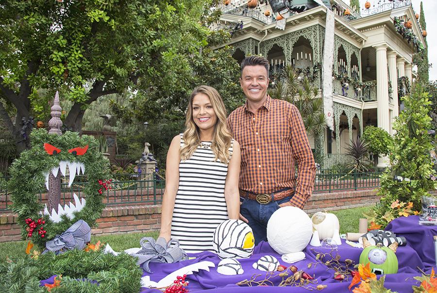 Home Decor Experts Sabrina Soto, Michael Moloney Help U0027Hauntu0027 Your Disney  Side For New Disney Parks Contest