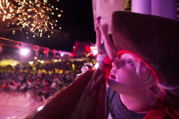 """""""Buccaneer Blast!"""" Fireworks at Sea"""