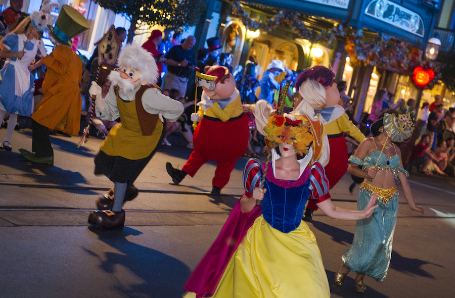 Image result for mickey's boo to you parade