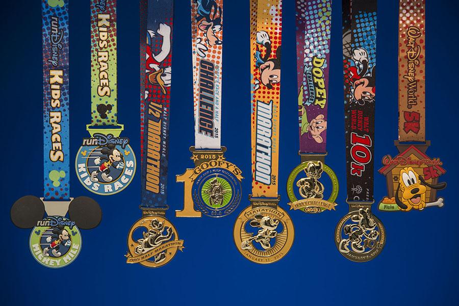 Bling Walt Disney World Marathon Weekend Medals Revealed Disney Parks Blog