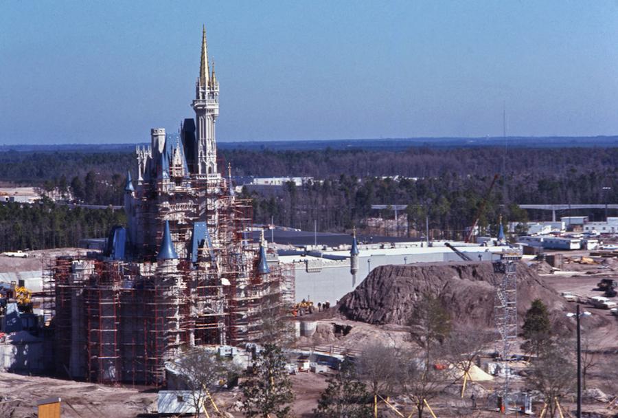 Vintage Walt Disney World Cinderella Castle Is Fit For A