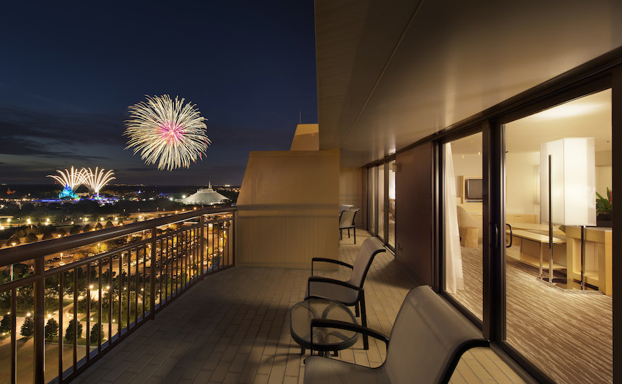 Room with a View: \'Theme Park View\' Suite at Disney\'s Contemporary ...