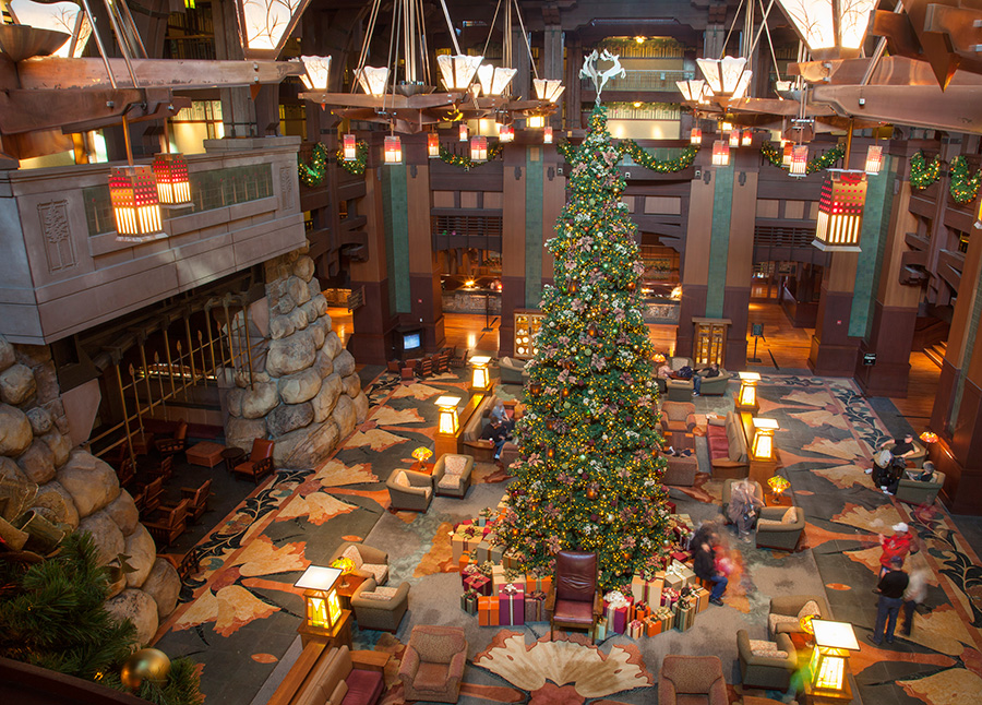Christmas Trees of the Disneyland Resort | Disney Parks Blog
