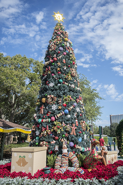 It's a Holly Jolly Christmas throughout the Downtown Disney Area ...