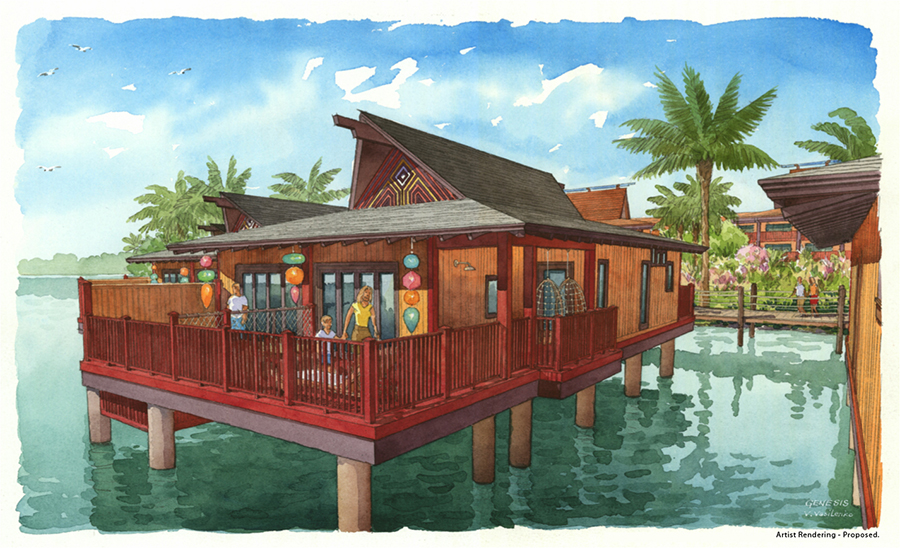 New details announced for disney s polynesian villas and for Villas polinesia