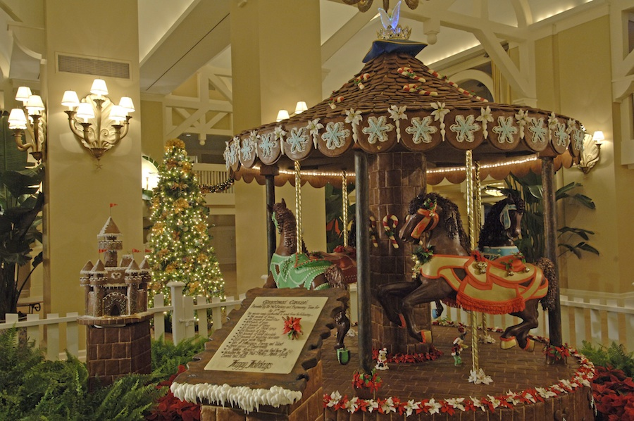 Over the top gingerbread creations wow walt disney world for Hotels all over the world