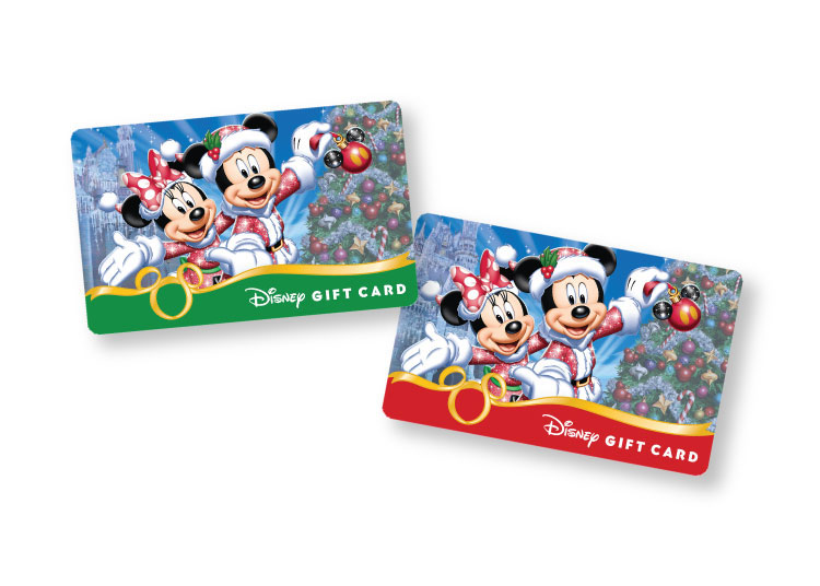 New Holiday Disney Gift Card Designs Available at Walt Disney ...