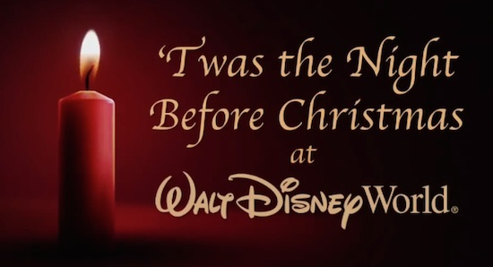 Mickey Mouse, Disney Characters & Cast Recite 'Twas the Night ...