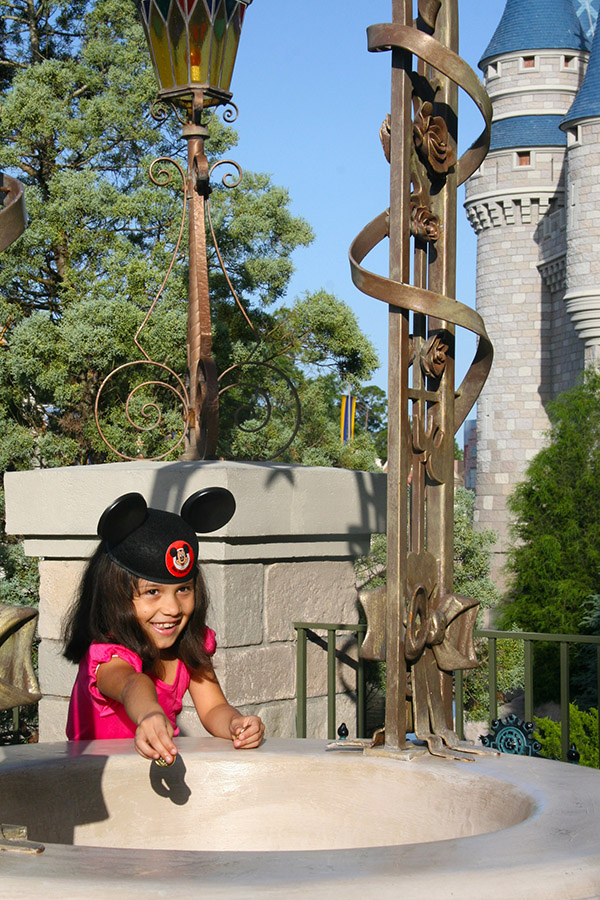 Disney Wishing Well Coins Make Wishes Come True for Central Flor
