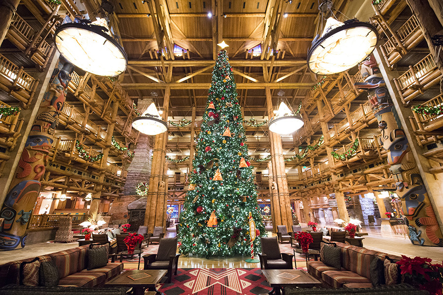 Christmas Trees at the Resorts of Walt Disney World | Disney Parks ...