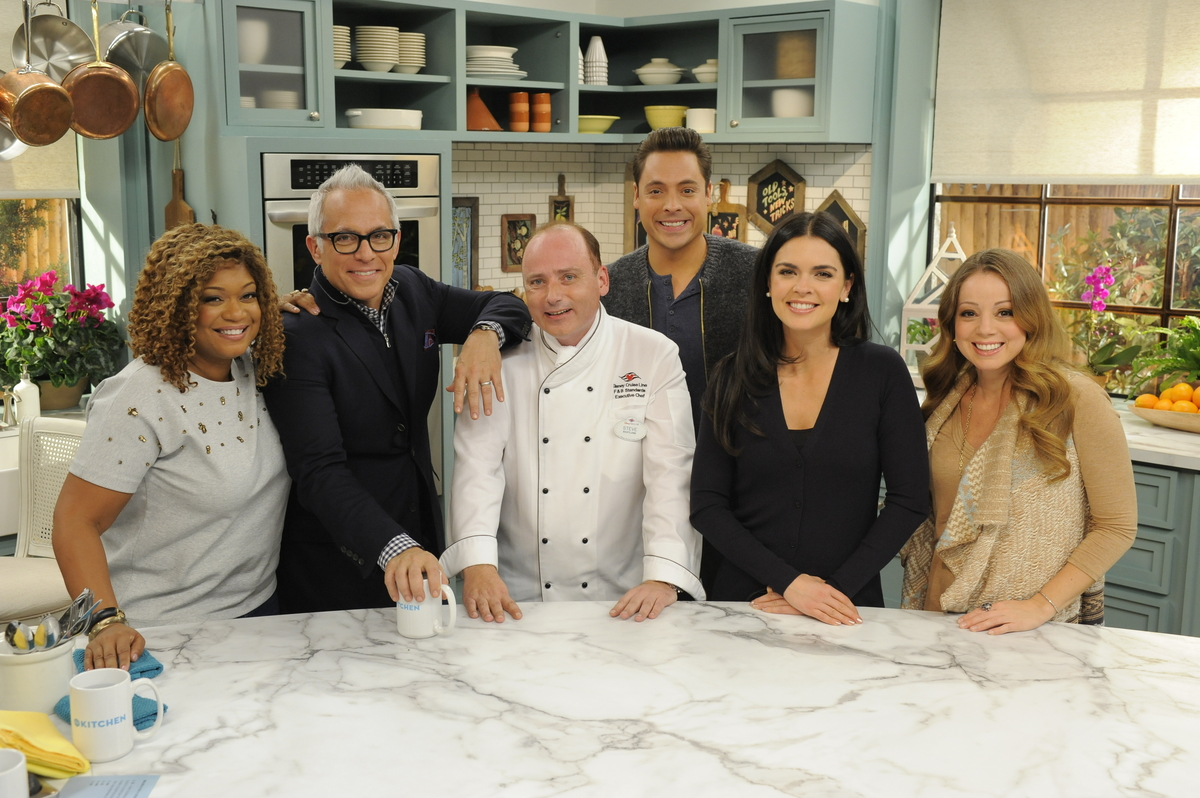The Kitchen Hosts Behindthescenes Disney Cruise Line On 'the Kitchen'  Disney