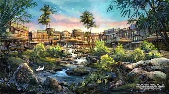 Hong kong disneyland breaks ground on disney explorers for Hotel francs tokyo