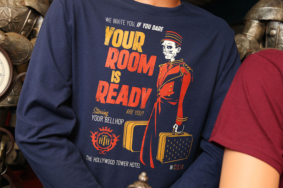Hollywood Tower Hotel Authentic Merchandise Drops Into