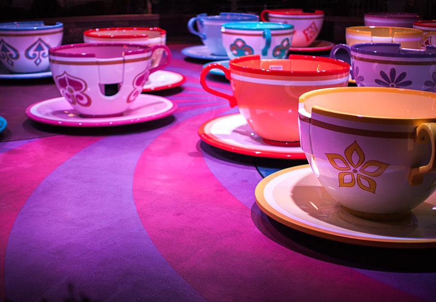 Disneyland Mad Tea Party Cake