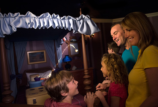Step Inside The Story of 'Peter Pan' In The Attraction's New Interactive Queue