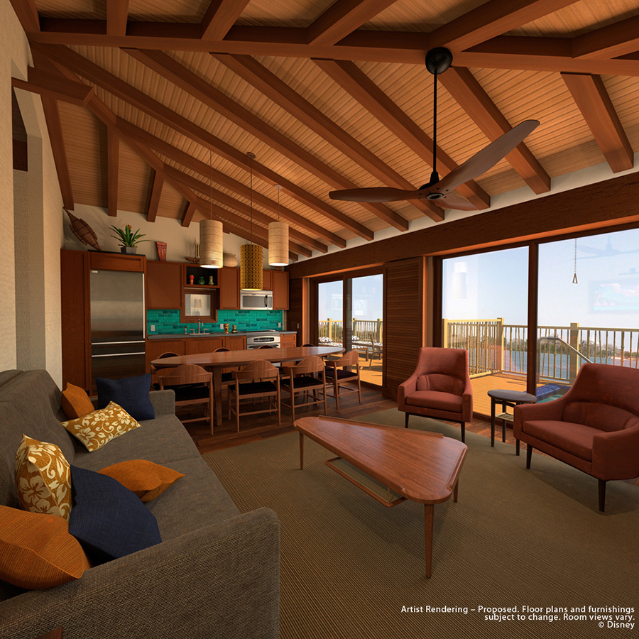 Sales begin soon for disney s polynesian villas for Villas polinesia