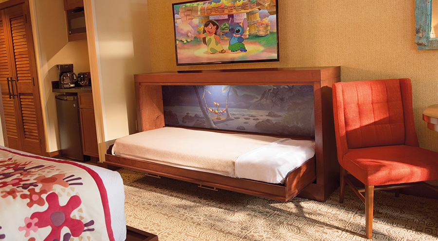 Trend A Secret Sleeper Bed at Disney us Polynesian Villas u Bungalows