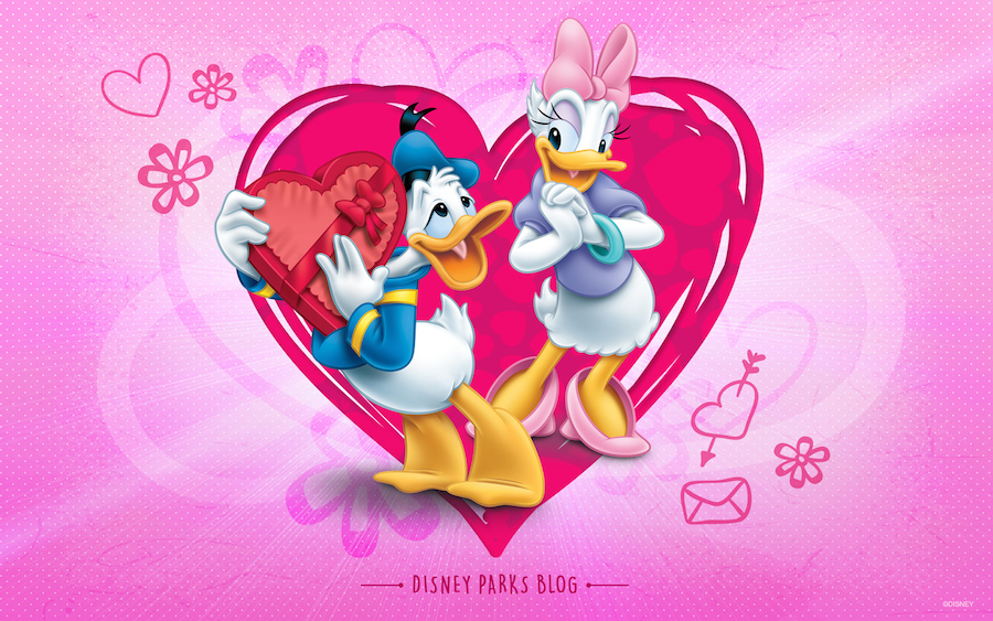 celebrate valentine's day with donald & daisy | disney parks blog, Ideas
