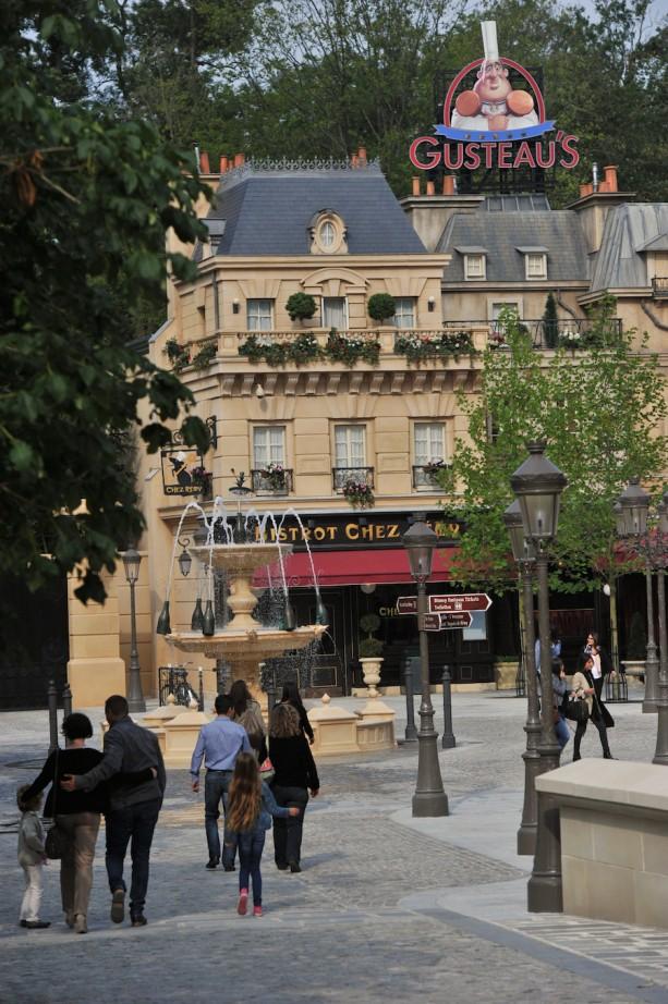 "Disneyland Paris opens new attraction, La Place de Rémy dedicated to the Disney•Pixar movie ""Ratatouille."""