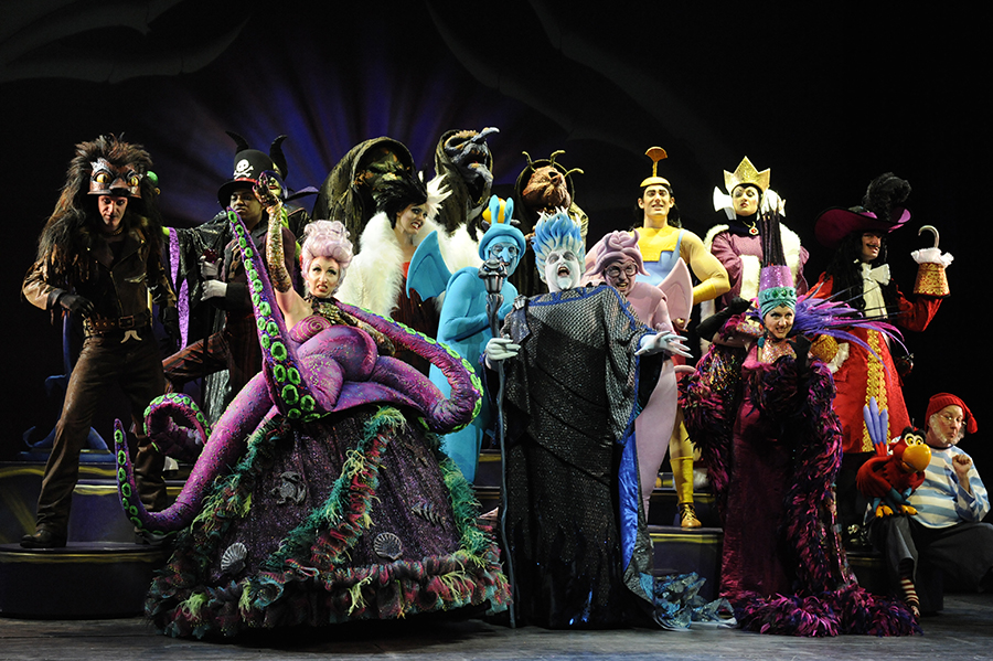 Disneys Atlantis The Villains: Five Places To Spot Villains On A Disney Cruise