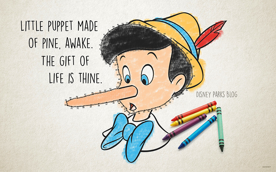 Celebrate The Anniversary Of Pinocchio With This Desktop