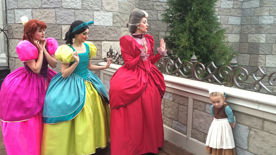 #DisneyKids Young Girl Overcomes Shyness With Amazing Disney Side Costumes ... & DisneyKids: Young Girl Overcomes Shyness with Amazing Disney Side ...