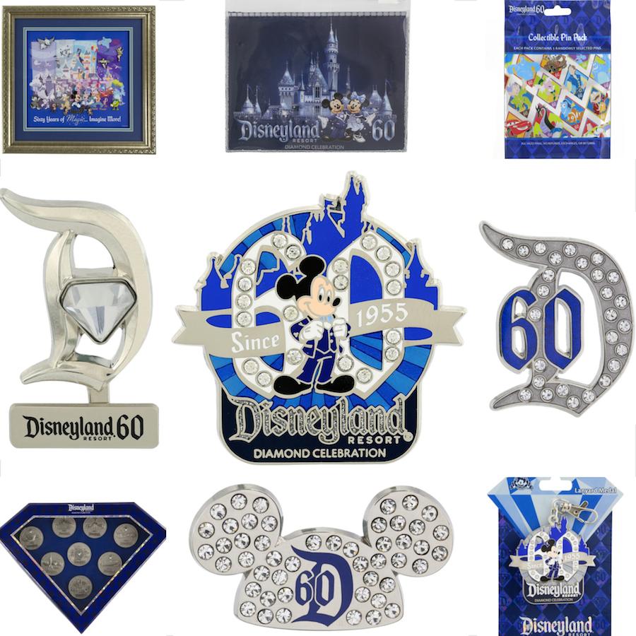 Disneyland Resort Diamond Celebration Pins Will Dazzle You | Disney ...