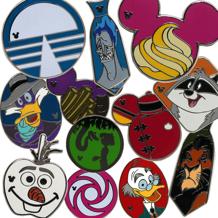 New Hidden Mickey Pins Coming To Disney Parks In April