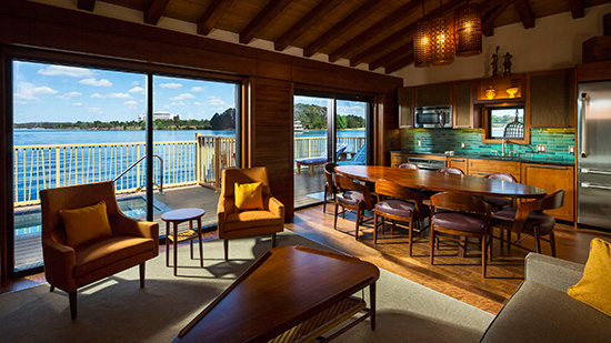 A Look Inside the Bungalows at Disney's Polynesian Villas ...