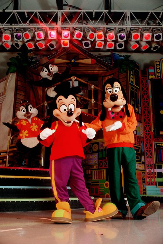 Disney Days Of Past Goof Troop Visits Walt World Resort