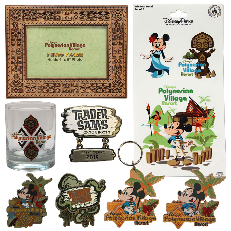 Preview of New Merchandise Coming to Disney\'s Polynesian Village ...