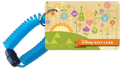 New Wearable Disney Gift Card Designed for Epcot International ...
