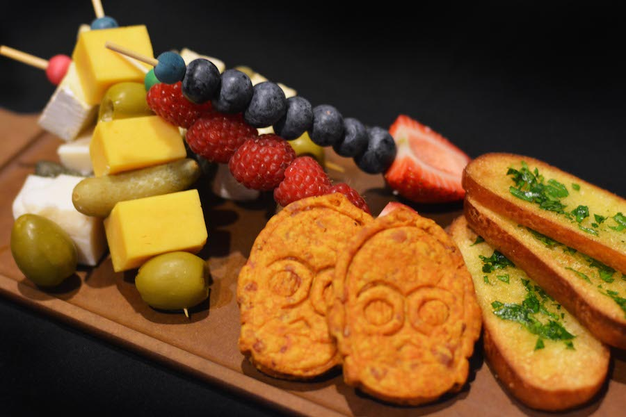 Fruit and Cheese 'Sabers' from the Rebel Hangar: A Star Wars Lounge Experience at Disney's Hollywood Studios